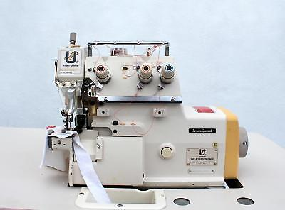 Union Special Sp161 Cylinder Bed 3-thread Serger Industrial Sewing Machine 220v