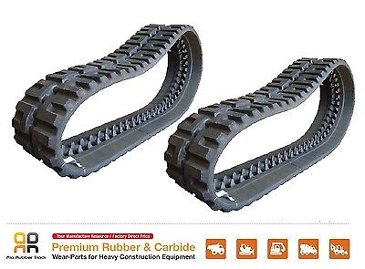 2pc Rubber Tracks 450x86x60 Cat 246c 256c 262c John Deere 280 Skid Steer Loader