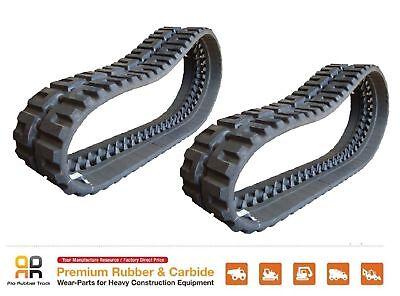 2 Pc Rio Rubber Track - 320x86x49 Bobcat T190 Skid Steer