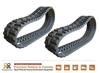 2 Pcs Of Rubber Track 450x86x59 - Cat 268b Skid Steer Loader