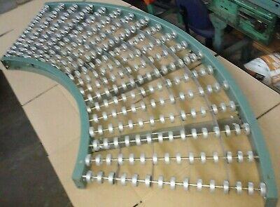 Hytrol 36 Gravity Skate Wheel 90 Degree Conveyor Curves More Than 1 Available