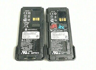 X2 - Motorola Pmnn4489a Battery For Xpr7550 Xpr7350 Series Two Way Radio