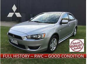 Mitsubishi Lancer CJ *LONG REG,MANUAL , FULL HISTORY , RWC *