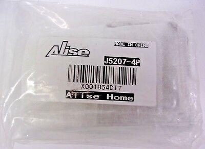 - Alise J5207-4P Stainless Steel Shelf Brackets 5x3 Inch,4Pcs Brushed Nickel