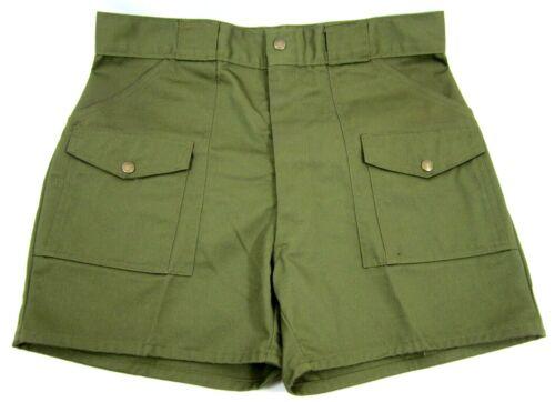BSA Boy Scout Uniform Shorts VTG 70s 80s Union Made USA Scout Master Eagle