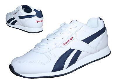 caf553a088a98 Reebok Royal Classic Jogger Kinder Schuhe Junior Sneaker Leder weiß blau  Unisex
