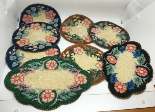 Set of 8 Vintage WWII Era Occupied Japan Doilies Buy It Now