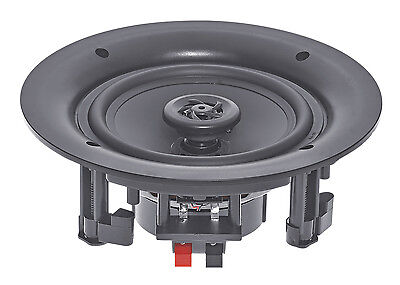 """e-audio 8"""" 180W Home Shop Round Ceiling Speaker with Offset Tweeters PAIR #402C"""
