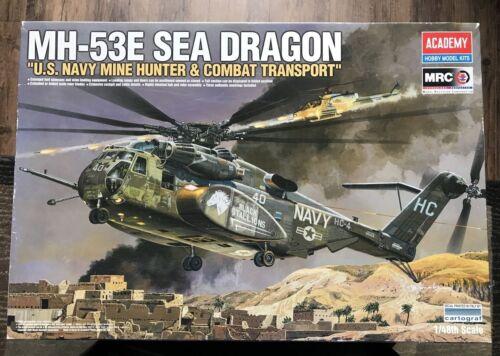 Academy 1/48 MH-53E Sea Dragon US Navy Mine Hunter & Combat Transport #12703