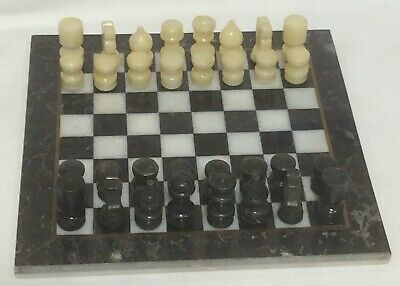 Marble Chess Board Game, Bid Now for sale  Shipping to Nigeria