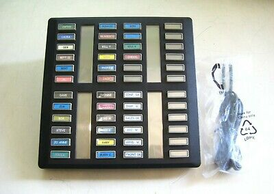 Northern Telecom Nt8b41 Cap 48-button Central Answering Position Black