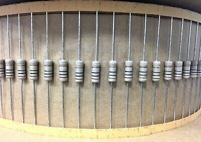 10x 1w 5 Carbon Film Resistors 1 Watt 10m Ohm - 10 Meg