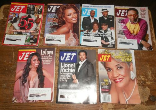 7-lot 2004 and 2006 jet magazines in good shape used