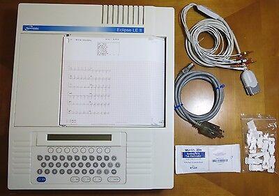 Burdick Eclipse Le Ii Ekg Ecg Machine - Complete Patient Ready Unit