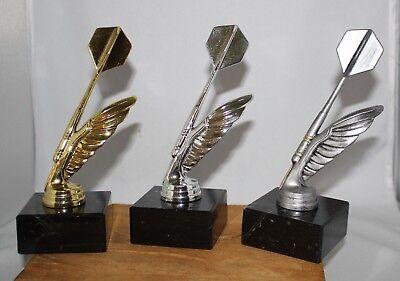 3er Serie Dart-Ständer(Pokal) Pfeil/Feder