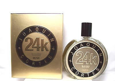 Joaquin Cortes 24k Man Edt Spray 3.4 Oz.