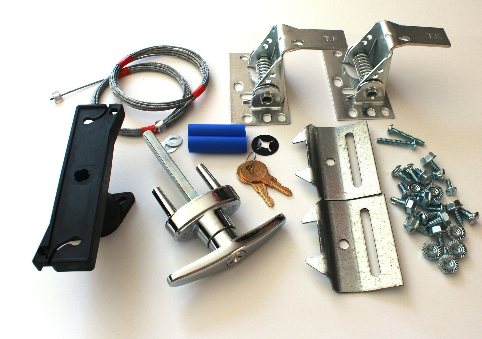 Deluxe Garage Door Lock Kit W/2 Keys, Universal