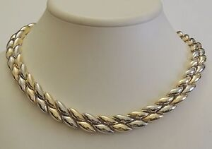 GIROCOLLO-ORO-18-kt-CHIMENTO-GOLD-NECKLACE-Goldkette-D-039-OR-COLLIER