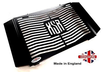 <em>YAMAHA</em> XSR 900 16  19 BLACK RADIATOR RAD COVER GUARD GRILL WITH SIDE