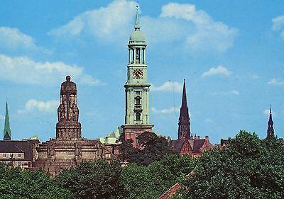 Alte Postkarte - Hamburg - Bismarckdenkmal