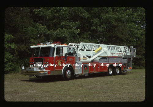 Manchester NJ 1989 Spartan Grumman Aerialcat 92 Midmount Fire Apparatus Slide ..