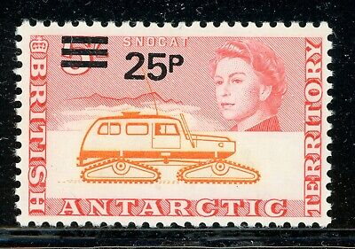 British Antarctic Territory MH: Scott #37 25p/5Sh Decimal Currency SCHG CV$20+