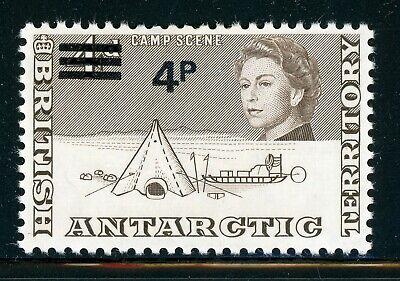 British Antarctic Territory MH: Scott #31 4p/4p Decimal Currency SCHG CV$2+