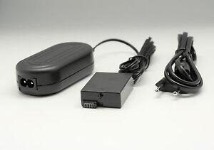 AC Power Adapter & DC Coupler for Canon ACK-E8 T2i T3i 550D 600D 650D 700D DR-E8