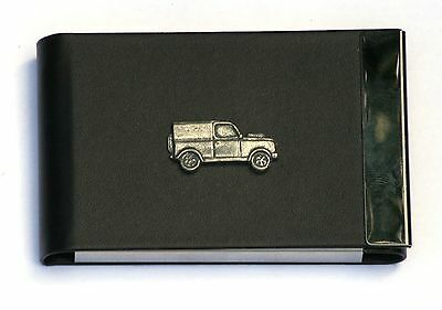 Off Roader Design Black Pu And Metal Business Or Credit Card Holder Gift 214