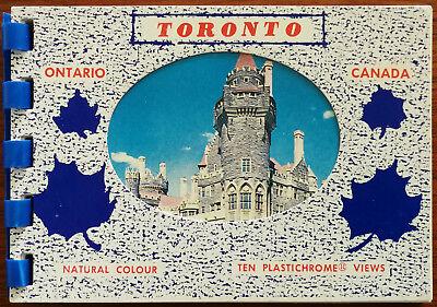 Toronto, Ontario, Canada. Ten Plastichrome Views