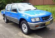 2000 Holden Rodeo Dual Cab Manual Rego 3/16 North Rocks The Hills District Preview