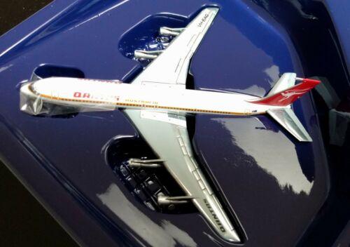 RARE Gemini Jets 1:400 Qantas 50th Anniversary Boeing 707 Registration VH-EAG