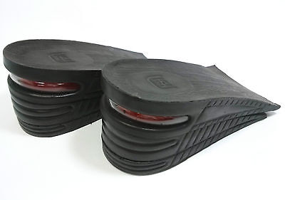 Cushion Erhöhung Höhe Einlegesohle Schuheinlagen 3 Layer 6cm Up↑ Pad Schwarz DE