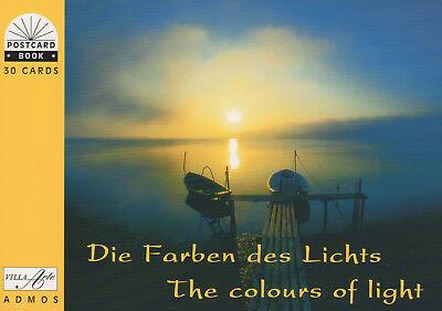 Postkartenbuch Farben des Lichts 30 Postkarten.Natur, Himmel, Sonne, Wolken NEU!