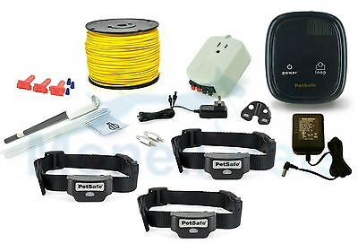 PetSafe Rechargeable InGround Electric Containment 3 Dog Fence PIG00-14673 1000'