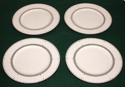 Set of 4 Lenox USA Lace Couture 9 3/8