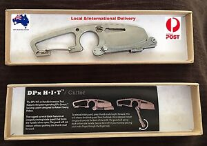USA Made: DPx Gear Knife/Cutter  With Centric Lock + Free Gift Mount Ommaney Brisbane South West Preview