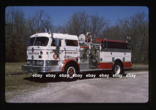 Violetville MD 1967 Mack C pumper Fire Apparatus Slide