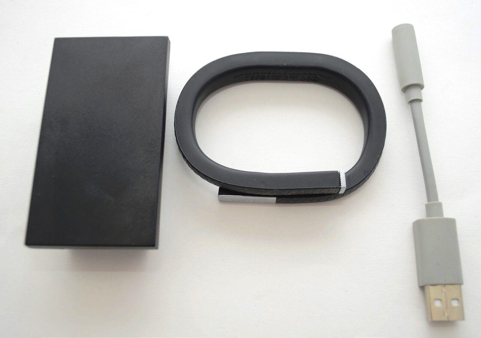 Jawbone UP Wristband LARGE Black Onyx 2nd Gen Fitness Diet Tracker Bracelet band