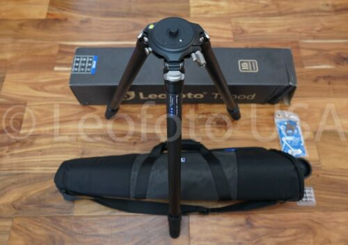 """Open Box"" Leofoto LM-324CL Long Tripod with Video Bowl and Case"