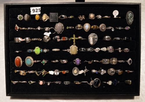 925 SILVER RING LOT #4