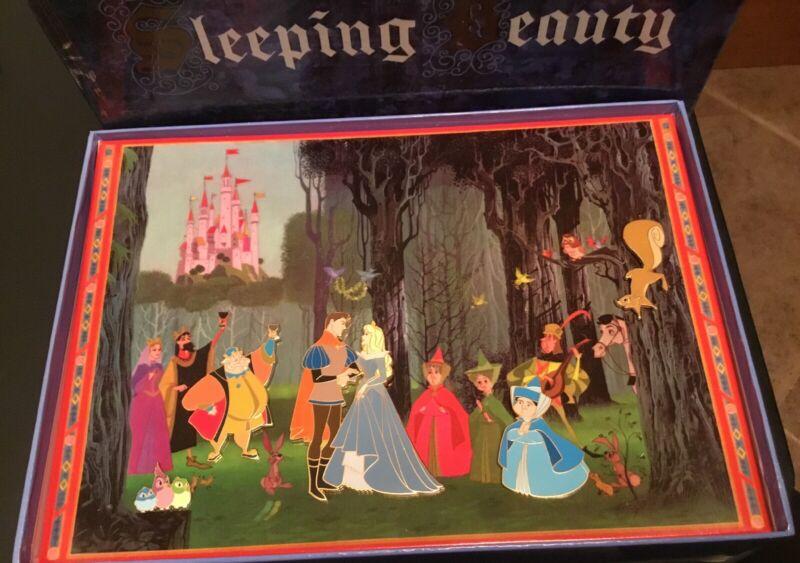 Disney Catalog Sleeping Beauty Boxed Set 5 Pins LE 1500 Disney Pin