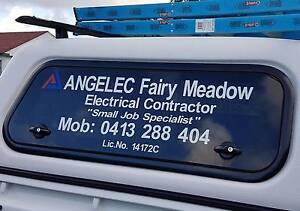 Electrician - ANGELEC Fairy Meadow. Pricing as low as $50. Fairy Meadow Wollongong Area Preview