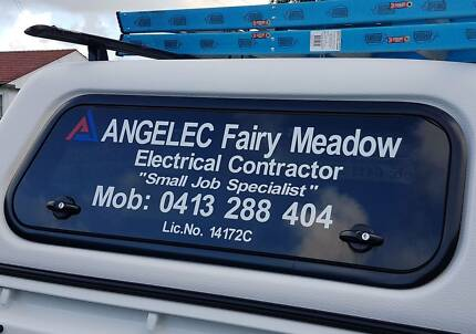 Electrician - ANGELEC Fairy Meadow. Pricing as low as $50.