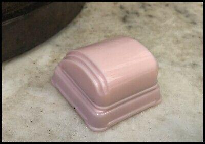 Vintage HTF Bakelite Casecraft? Pink Streamlined Art Deco Jewellery Ring Box