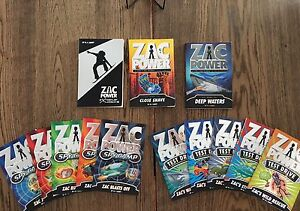 Zac Power Children's books - 13 books, excellent uses condition Pitt Town Hawkesbury Area Preview