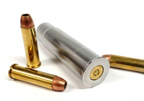 12GA to 357 Magnum & 38SPL RIFLED Shotgun Adapter - Chamber Reducer - Stainless