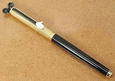 Colibri Disney Mickey Mouse Gold & Black White Glove Rollerball Pen