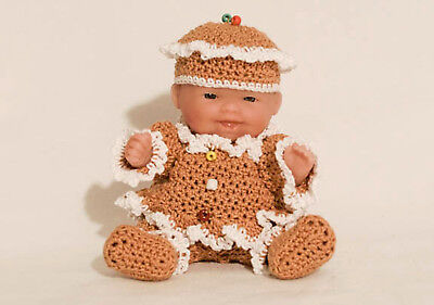 """Gingerbread OUTFIT ONLY for the Itty Bitty Baby - 5"""" Berenguer"""
