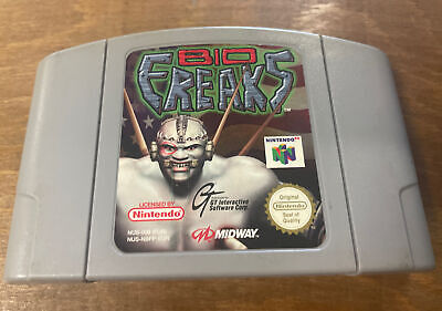 Nintendo 64 Bio Freaks N64 *Cartridge Only*
